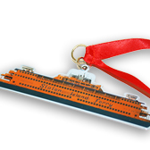 Staten Island Ferry Christmas Holiday Ornament